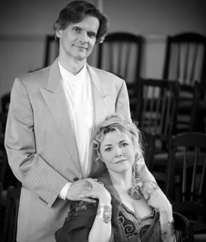 Elizabeth Vidal et André Cognet